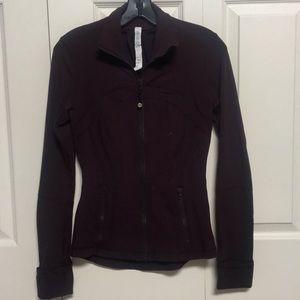 Lululemon Burgundy Define Jacket